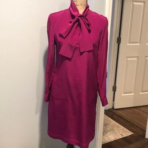 Ted Baker berry colored dress